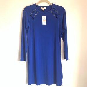 MICHAEL KORS Royal Blue Dress Size S